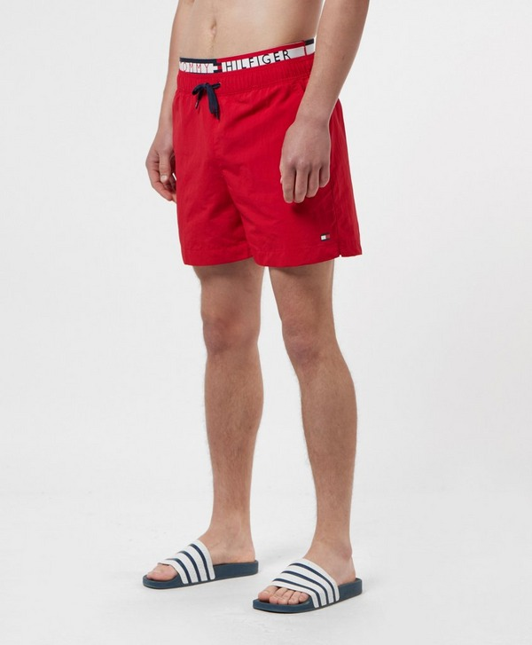 Tommy Hilfiger Statement Waistband Swim Shorts