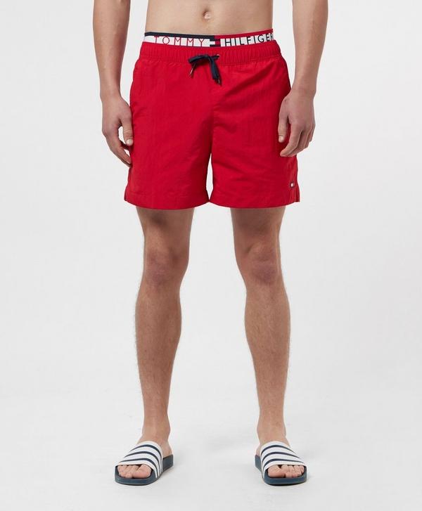 ab282b61325fe Tommy Hilfiger Statement Waistband Swim Shorts | scotts Menswear