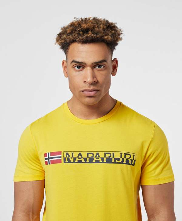 Napapijri Short Sleeve Logo T-Shirt
