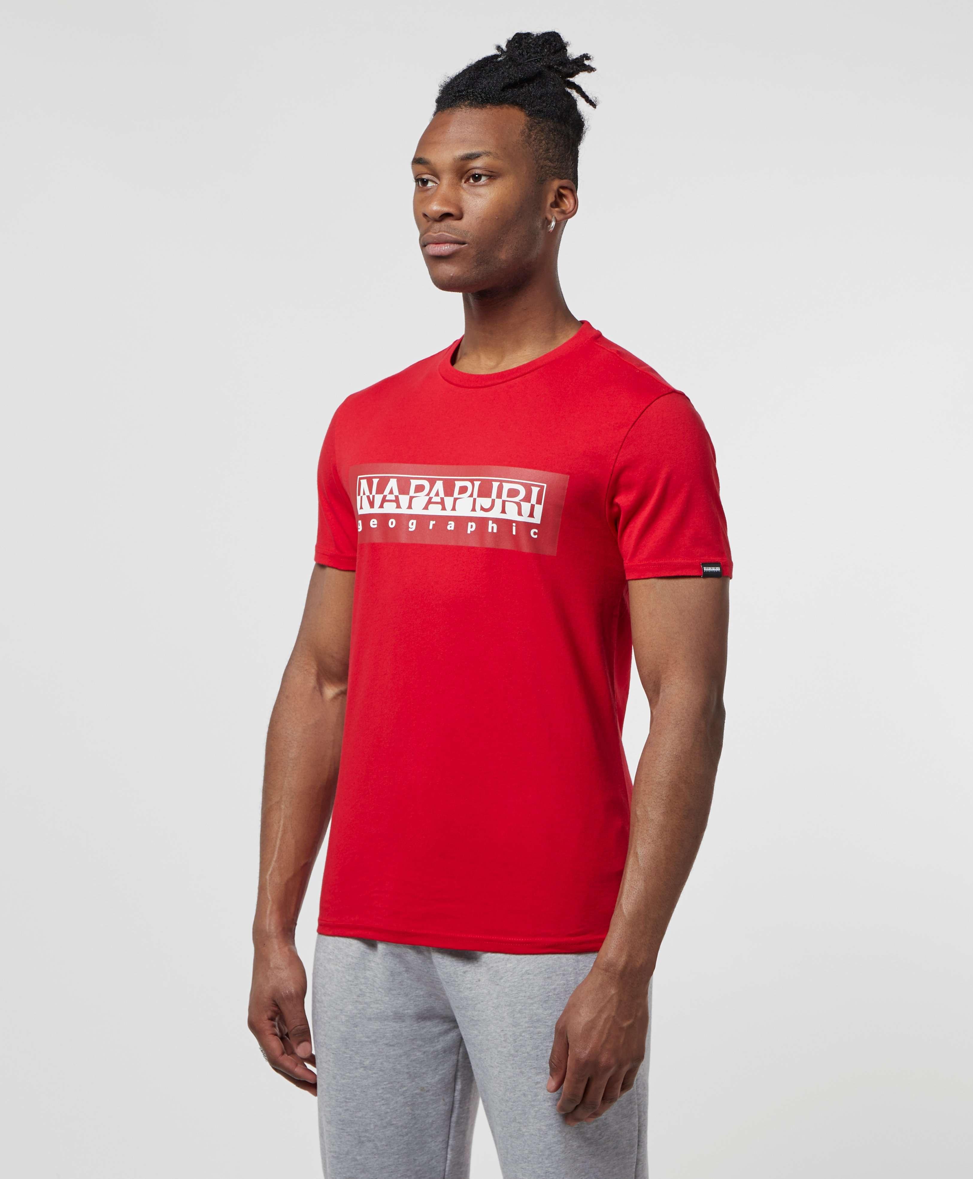 Napapijri Tribe Logo Short Sleeve T-Shirt