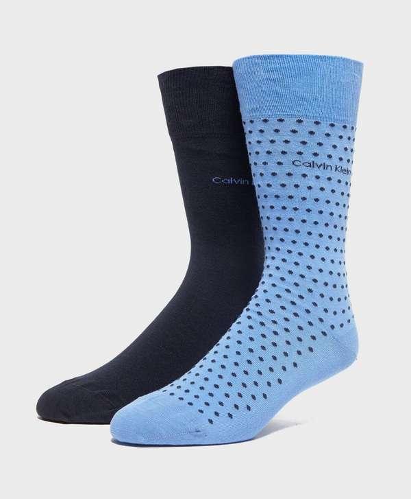 Calvin Klein 2-Pack Dot Socks
