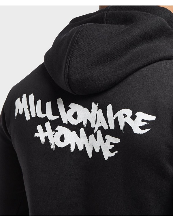 Millionaire Homme Paint Logo Overhead Hoodie - Online Exclusive