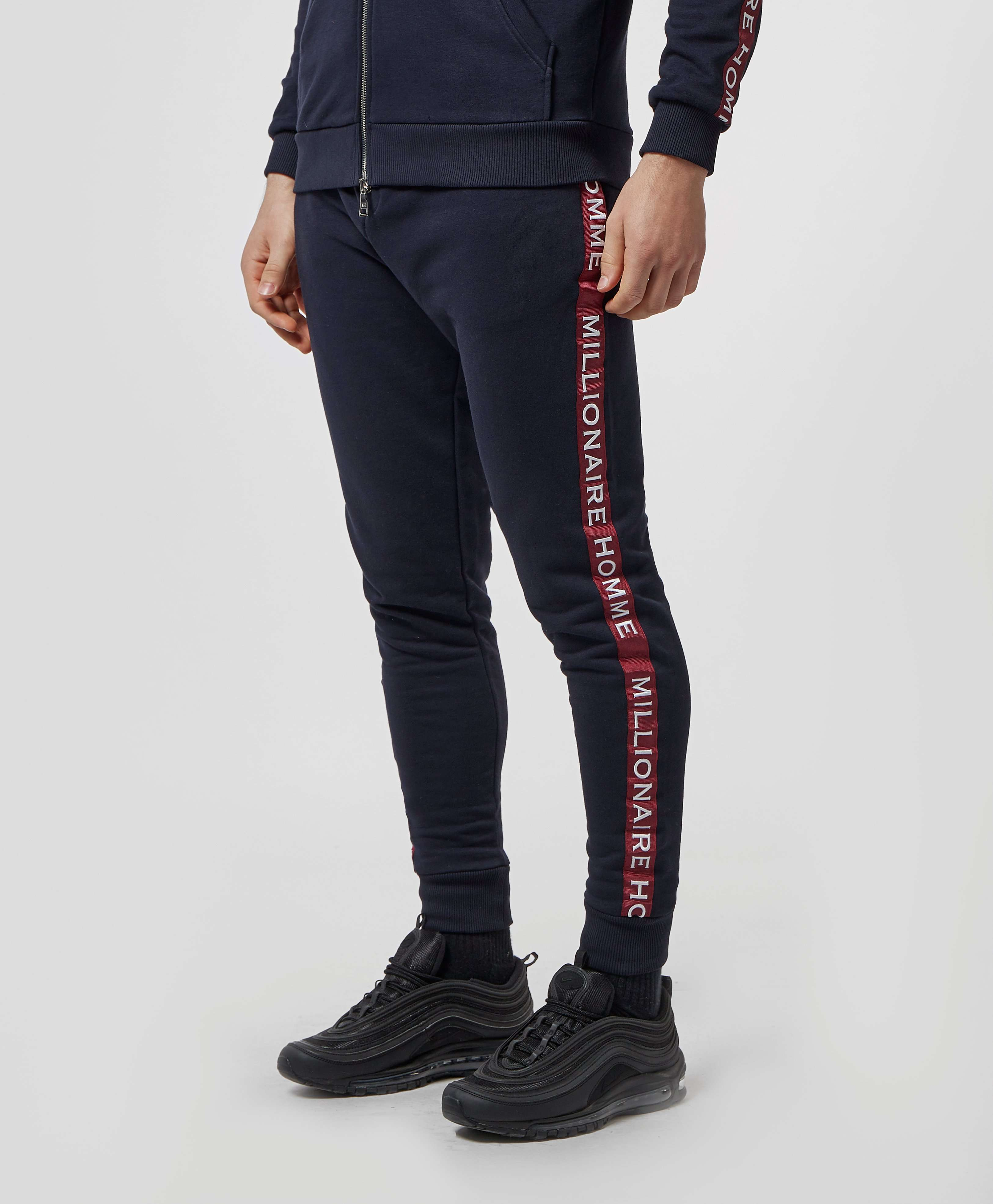 Millionaire Homme Tape Logo Fleece Pants - Online Exclusive
