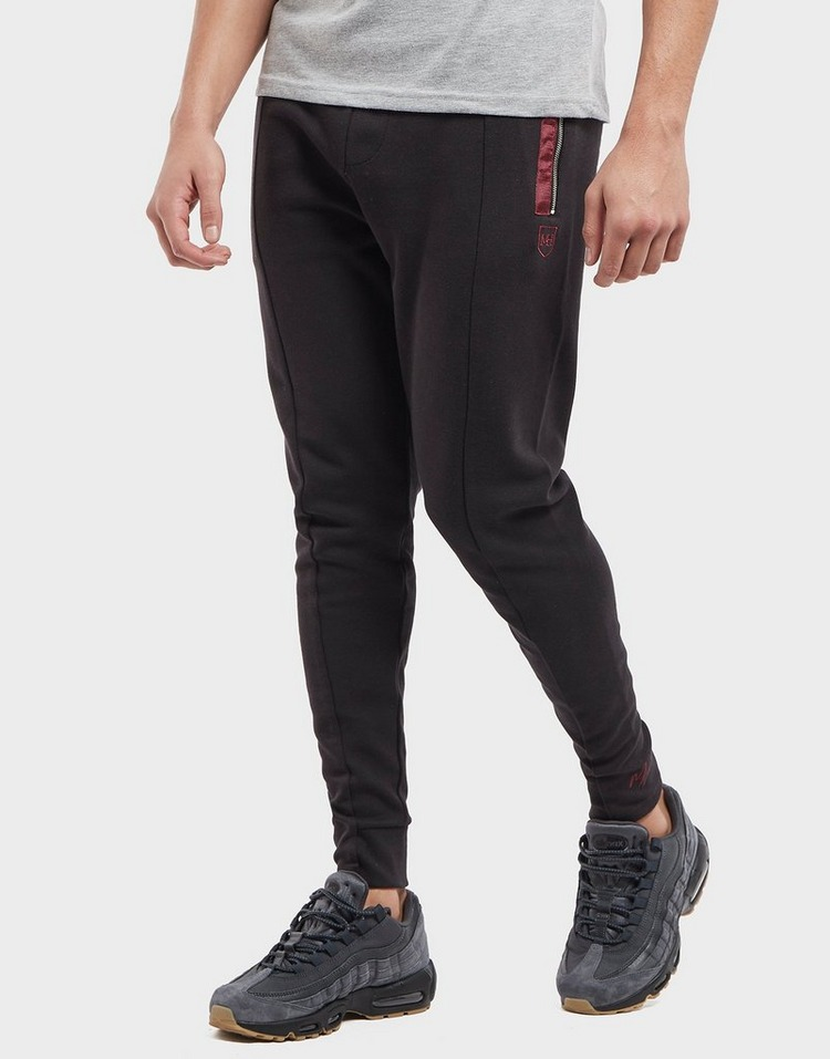 Millionaire Homme Jacquard Tapered Cuffed Fleece Pants