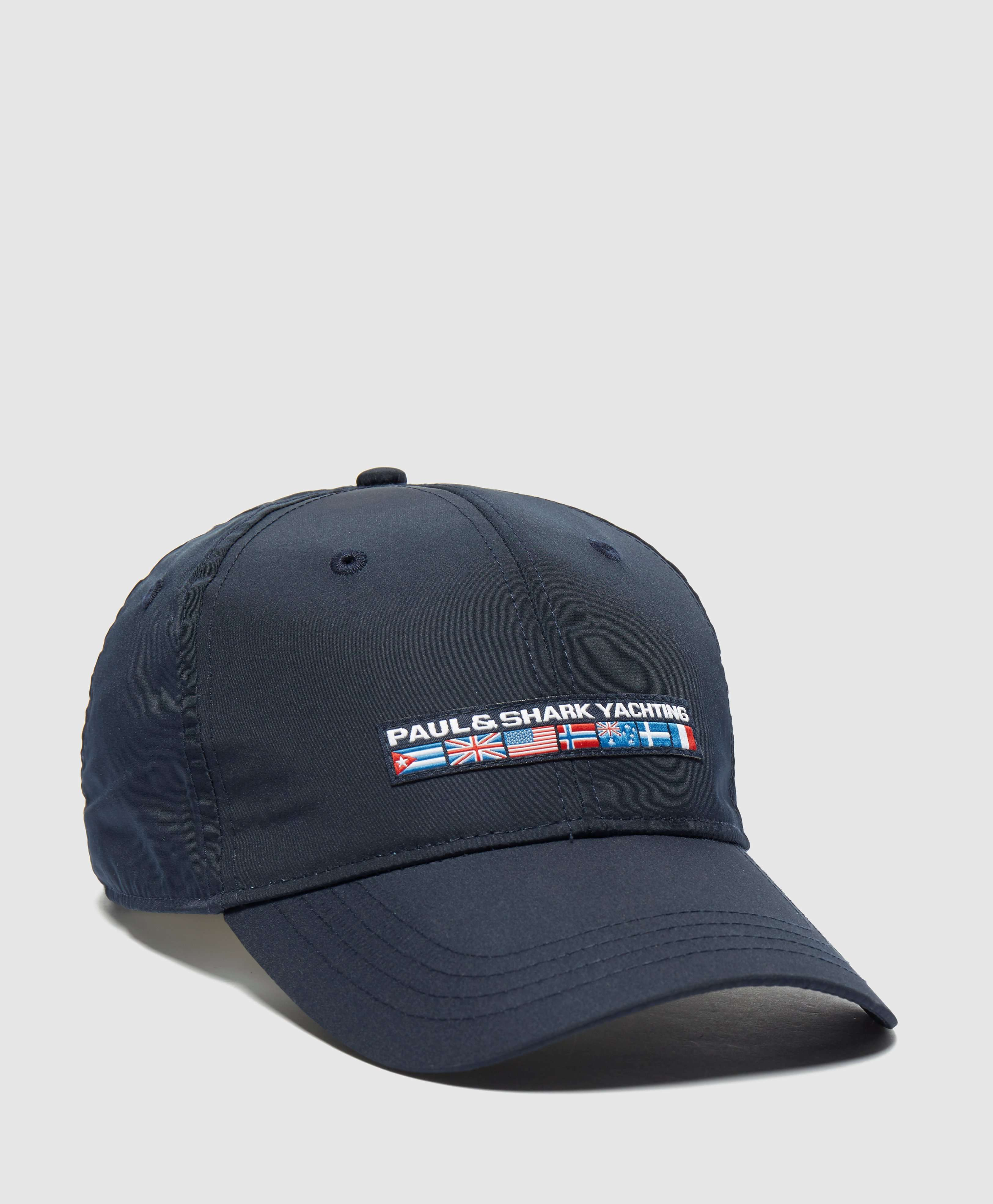 Paul and Shark Nylon Flag Cap