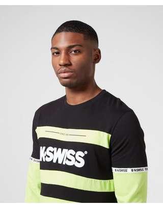 K-Swiss Fairfield Long Sleeve T-Shirt