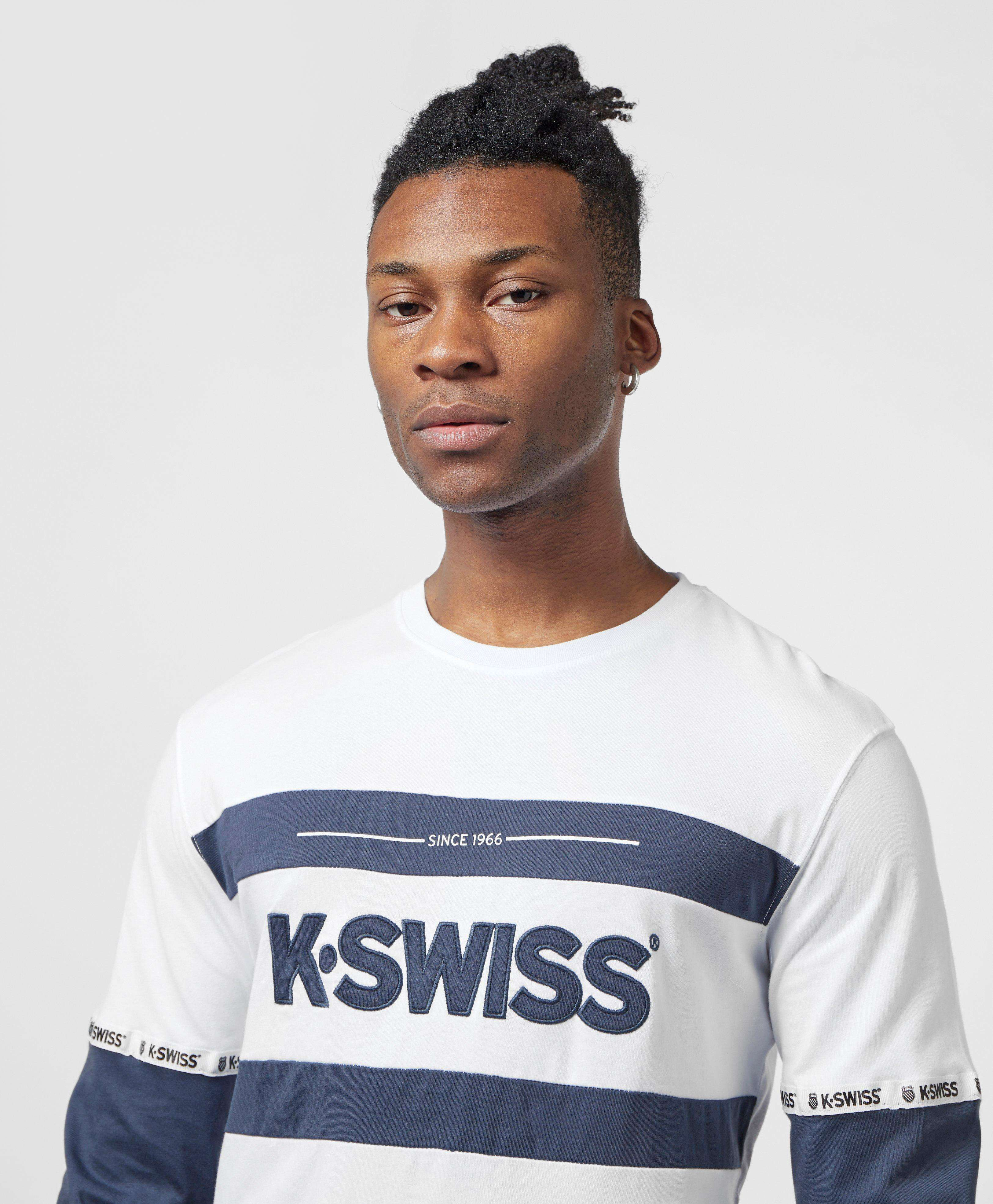 K-Swiss Fairfield Long Sleeve T-Shirt