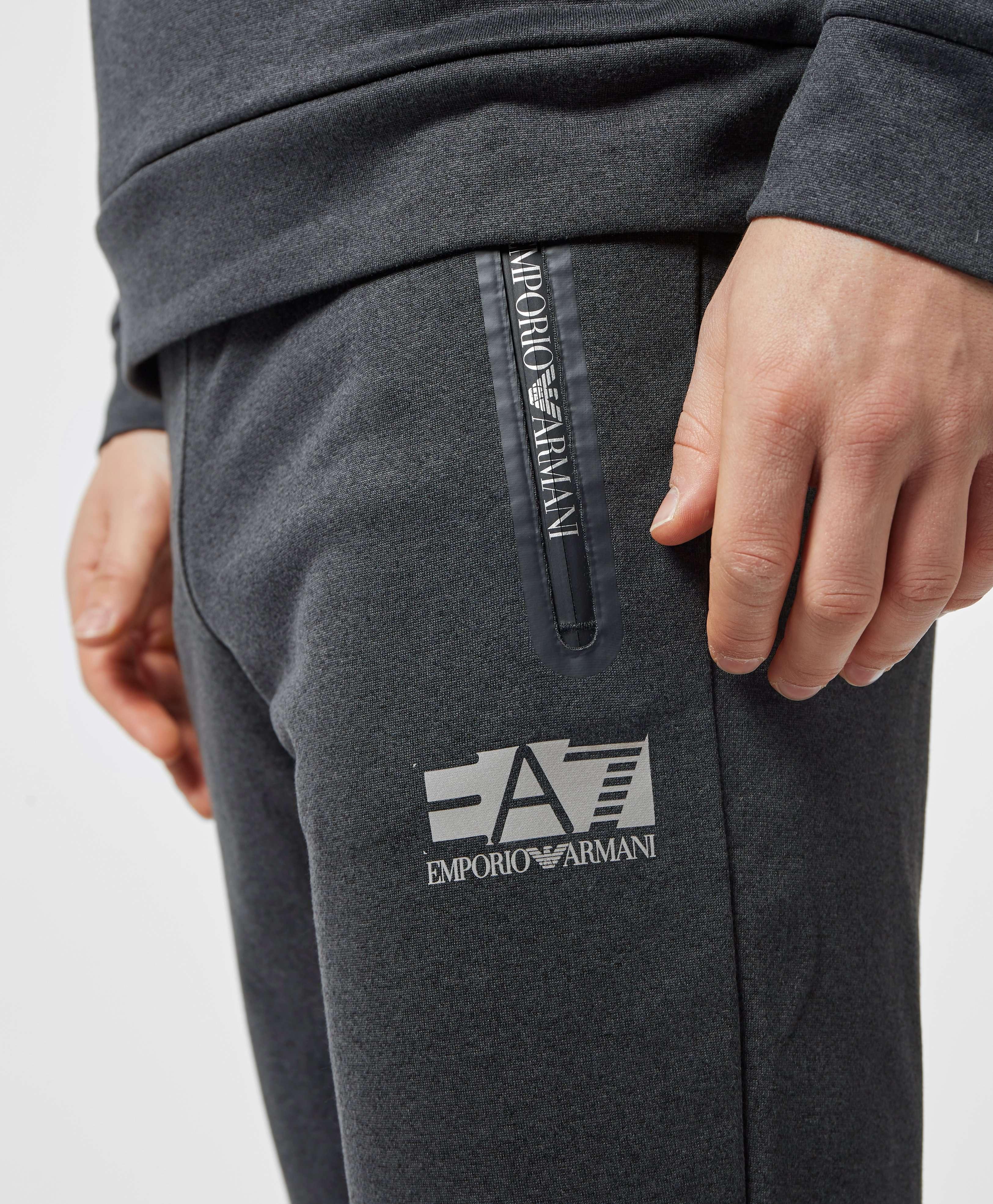 Emporio Armani EA7 Tech Cuffed Fleece Pants - Exclusive