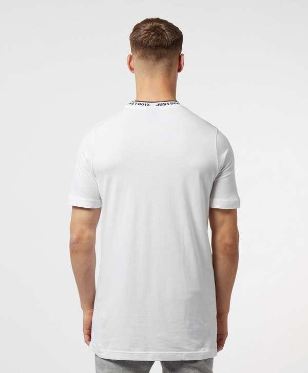Nike Just Do It Neck Short Sleeve T-Shirt
