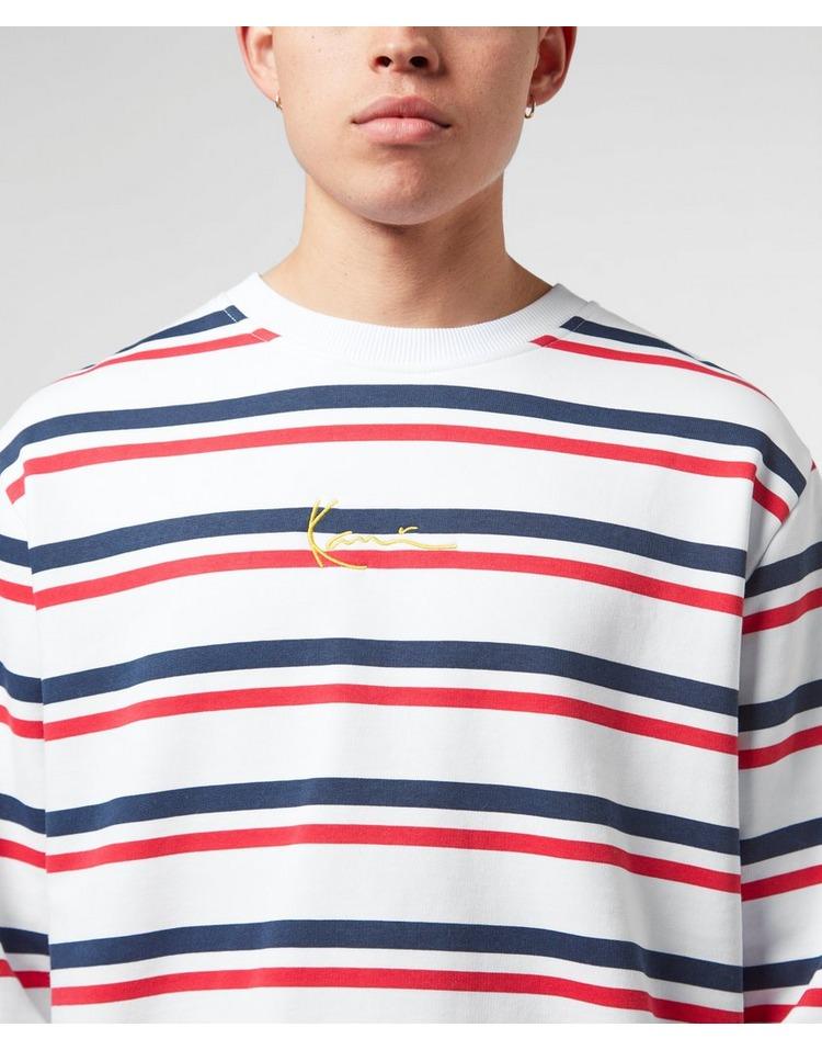 Karl Kani Logo Stripe Sweatshirt