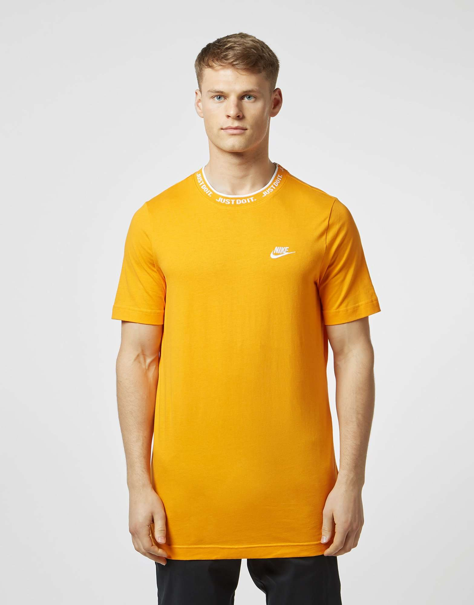 Nike Just Do It Neck Short Sleeve T-Shirt