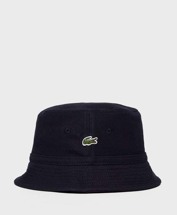 77b1cda707aca1 Lacoste Pique Bucket Hat | scotts Menswear