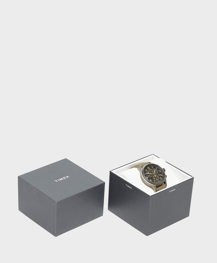 Timex Allied Chronograph 42mm Fabric Strap Watch