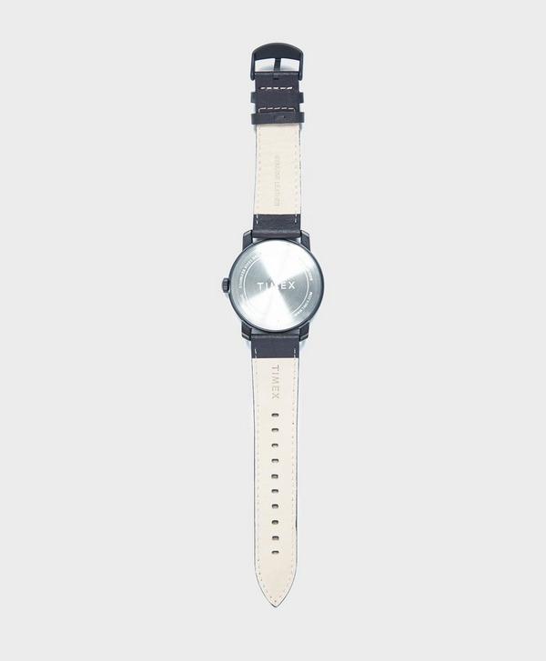 Timex Mod44 44mm Leather Strap Watch