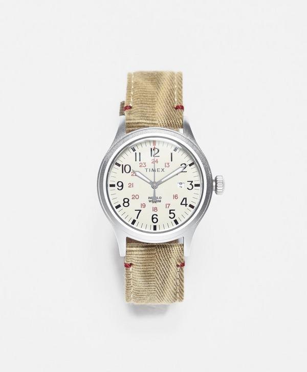 Timex Allied 40mm Fabric Strap Watch