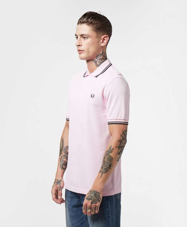 Fred Perry Twin Tipped Short Sleeve Polo Shirt