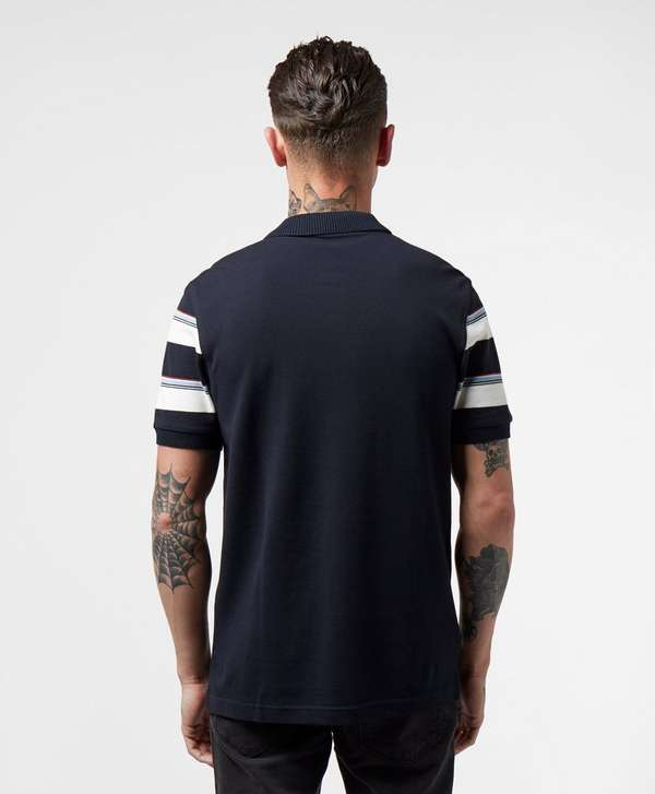Fred Perry Stripe Sleeve Short Sleeve Polo Shirt