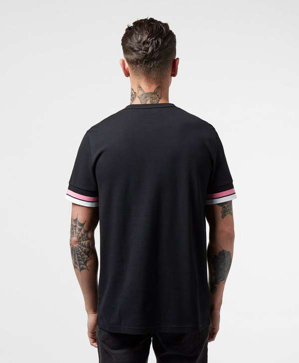 Fred Perry Bold Tip Pique Short Sleeve T-Shirt