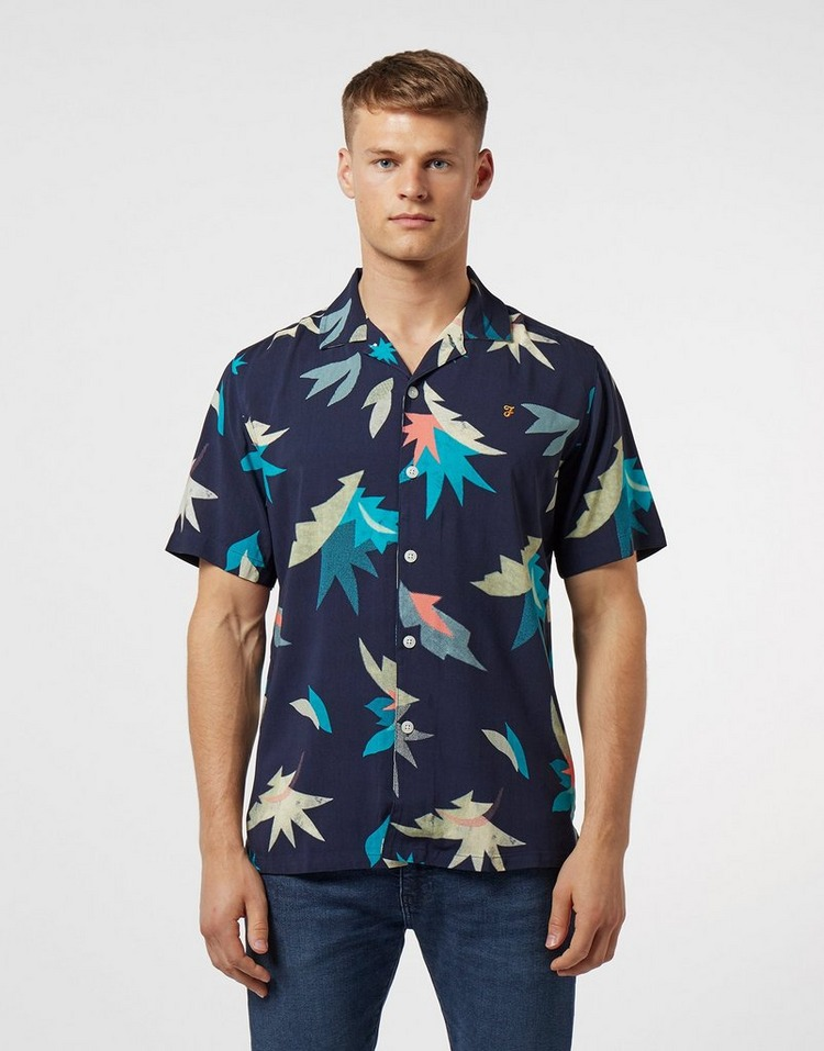 Farah Tida Print Short Sleeve Shirt