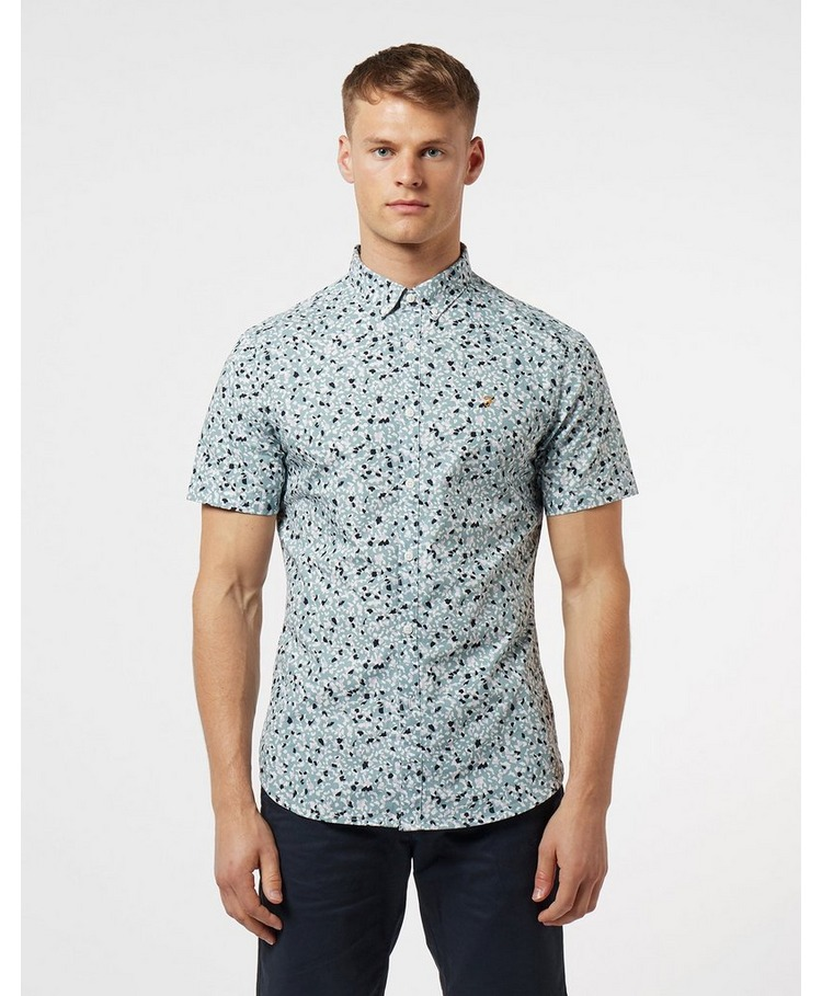 Farah Babilonia Dot Short Sleeve Shirt
