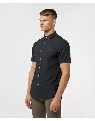 Farah Brewer Short Sleeve Slim Shirt