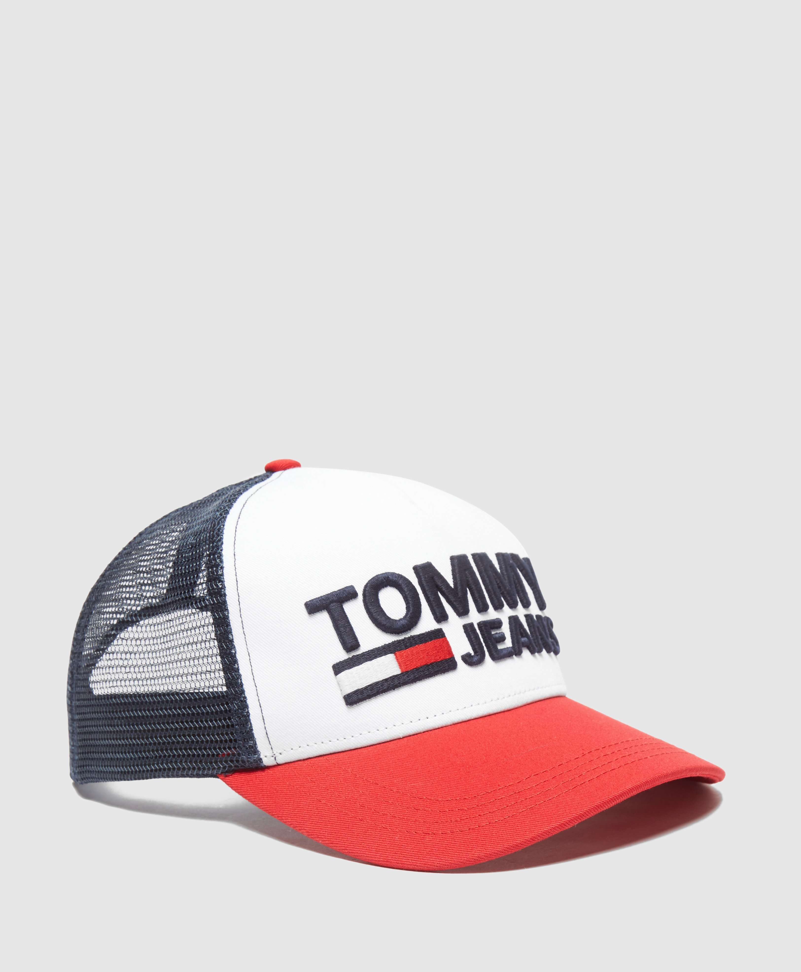 Tommy Jeans Logo Trucker Cap