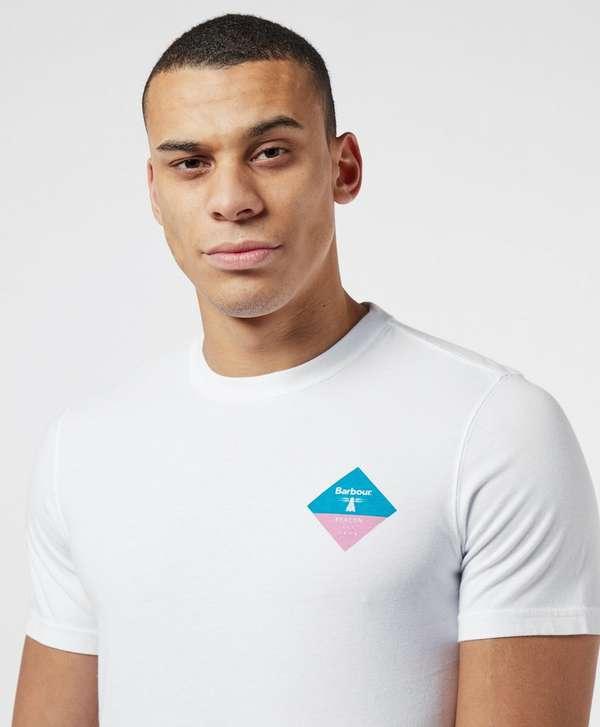 Barbour Beacon Small Diamond Logo Short Sleeve T-Shirt