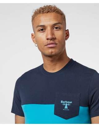 Barbour Beacon Clever Colour Block Short Sleeve T-Shirt