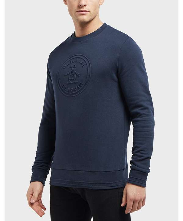 Original Penguin Embossed Logo Sweatshirt - Online Exclusive