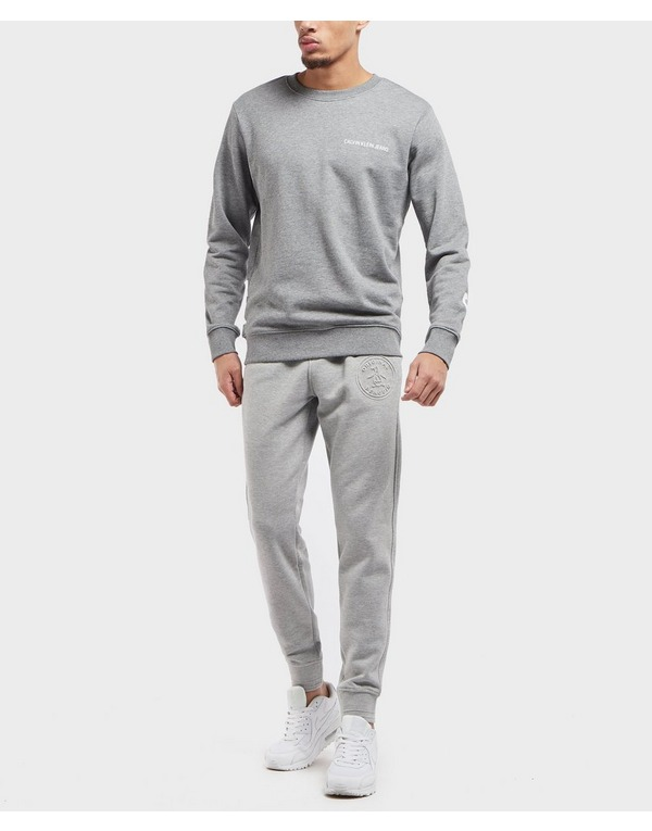 Original Penguin Embossed Cuffed Fleece Pants - Online Exclusive