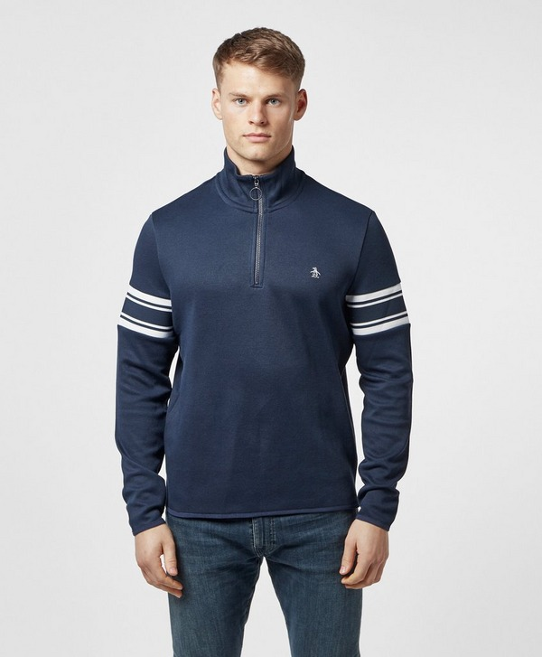 Original Penguin Half Zip Retro Sweatshirt