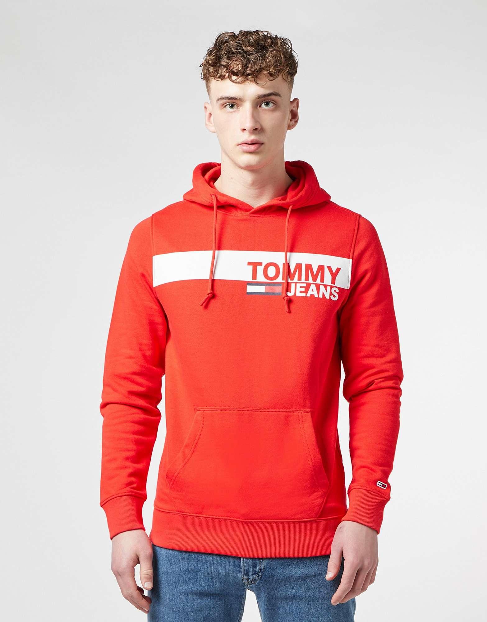 Tommy Jeans Panel Logo Overhead Hoodie