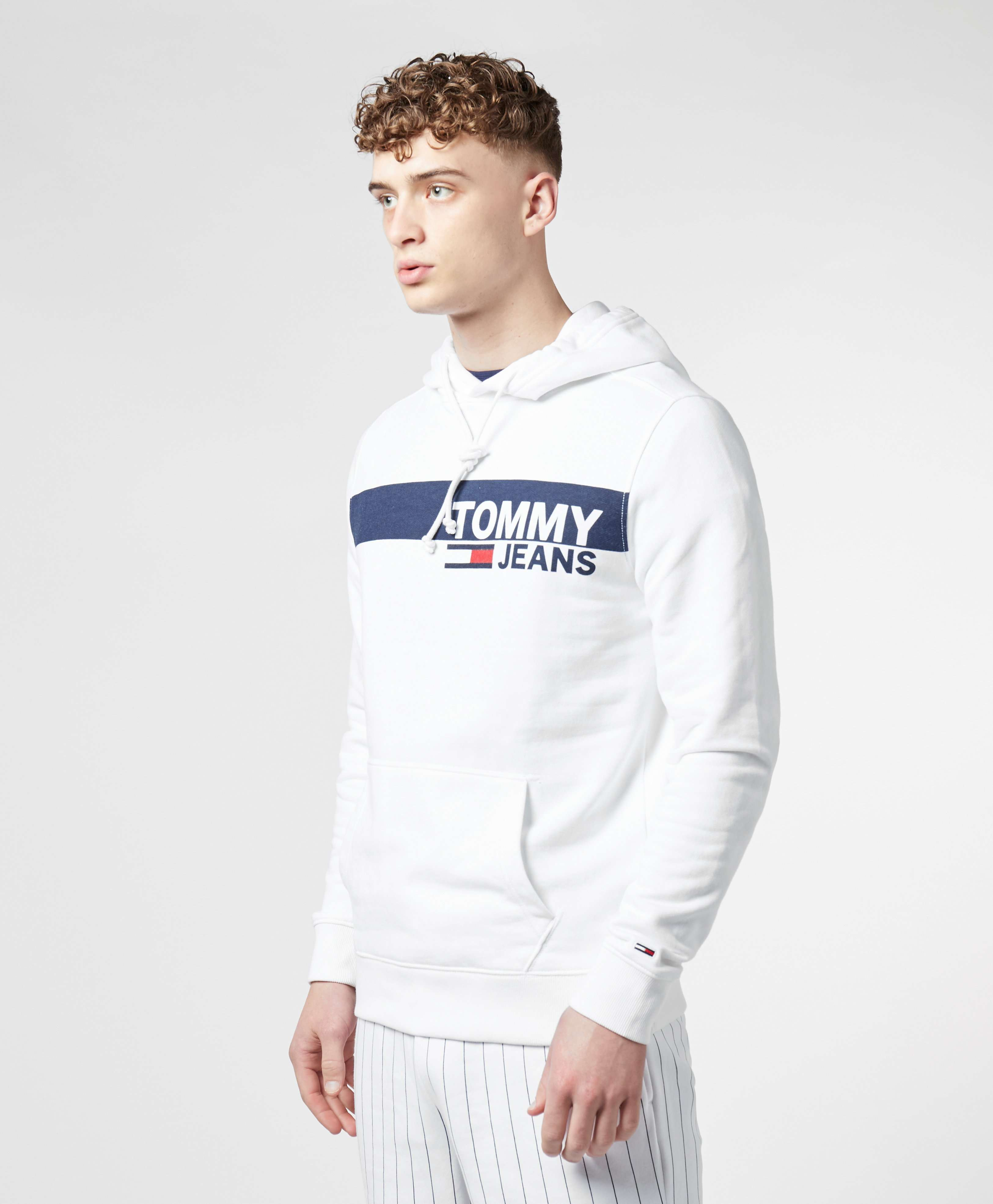 Tommy Jeans Panel Logo Overhead Hoodie