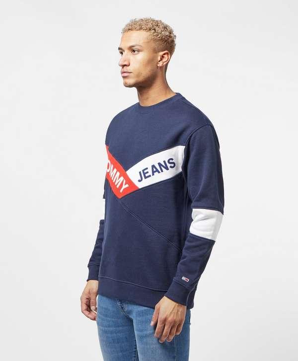 Tommy Jeans Chevron Sweatshirt