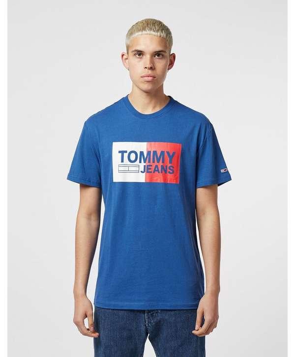 Tommy Jeans Split Logo Short Sleeve T-Shirt