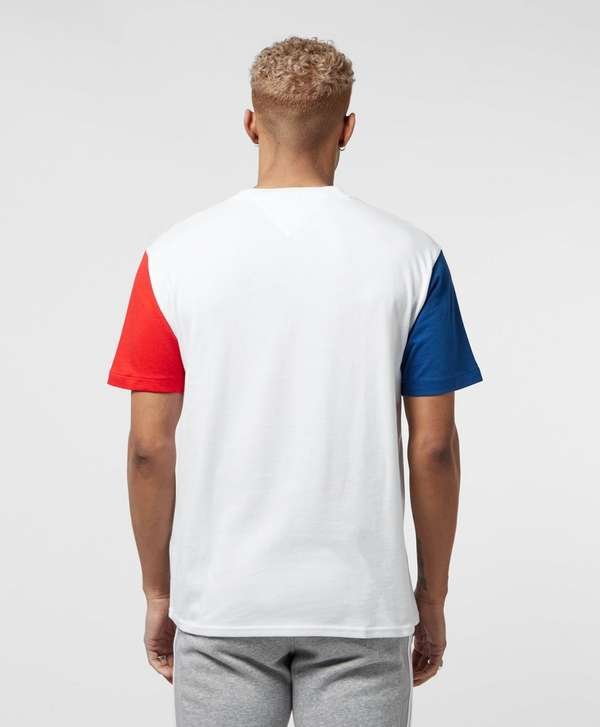 Tommy Jeans Multi Panel Short Sleeve T-Shirt