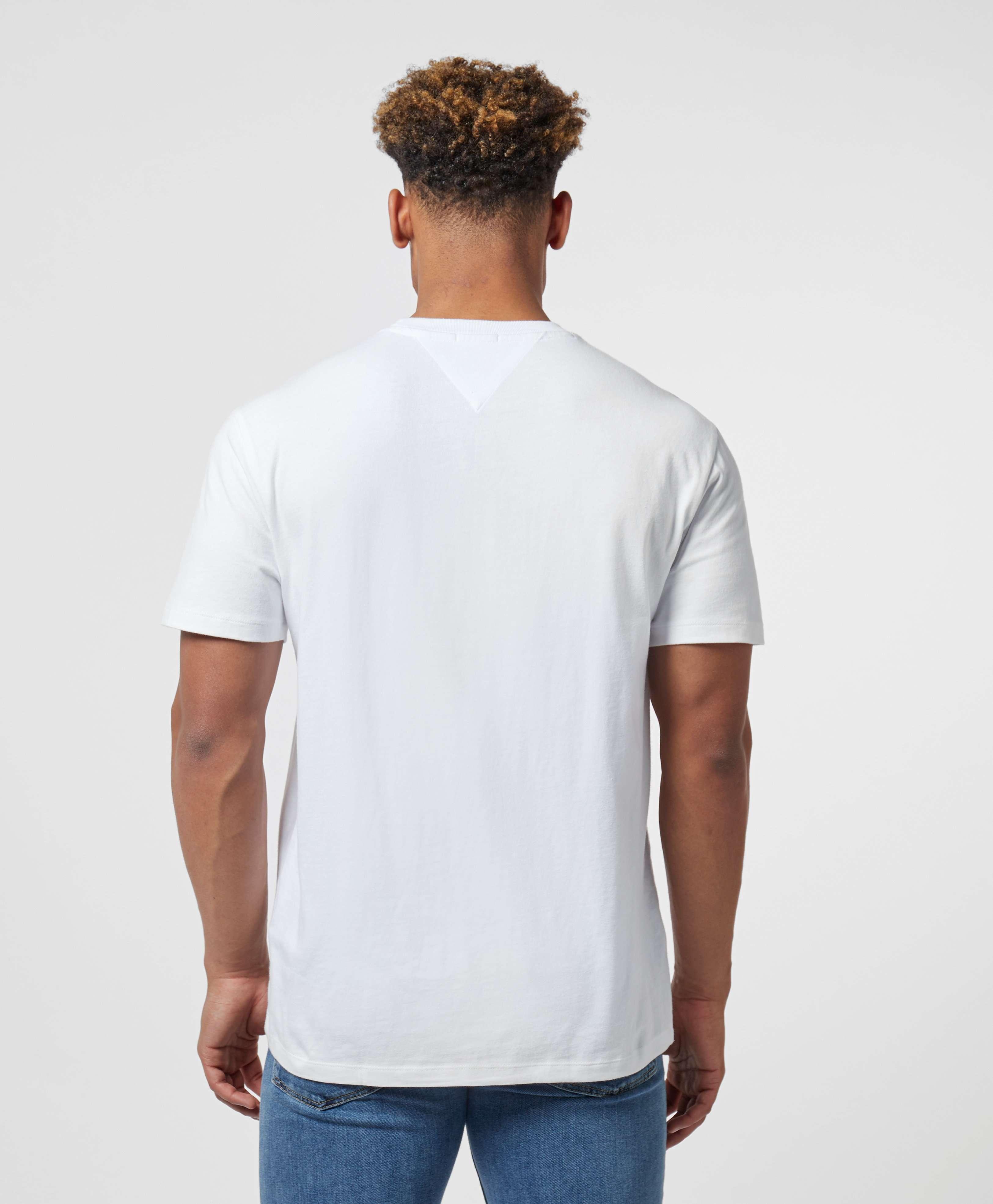 Tommy Jeans Multi Script Logo Short Sleeve T-Shirt