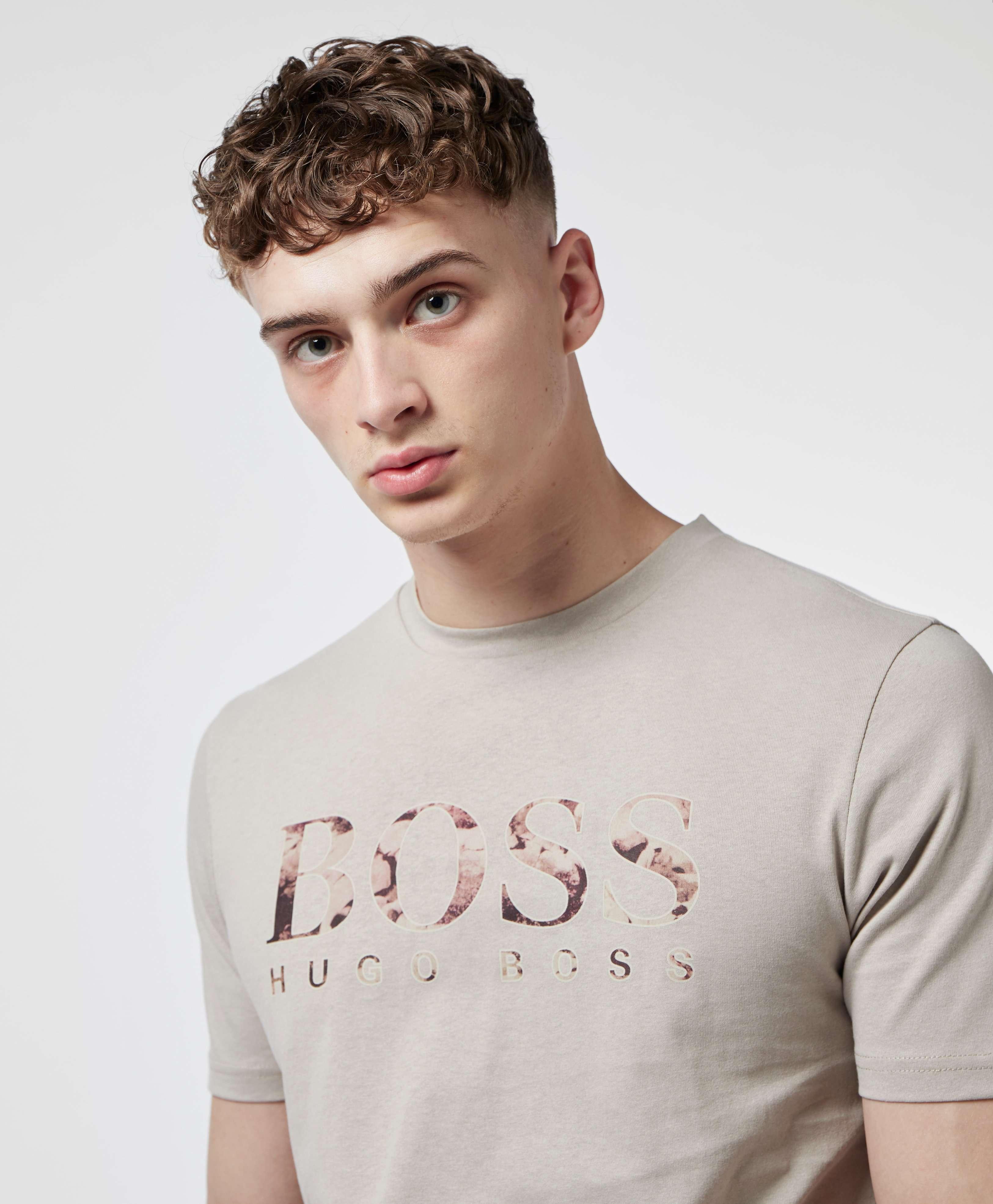 BOSS Tauch1 Logo Short Sleeve T-Shirt
