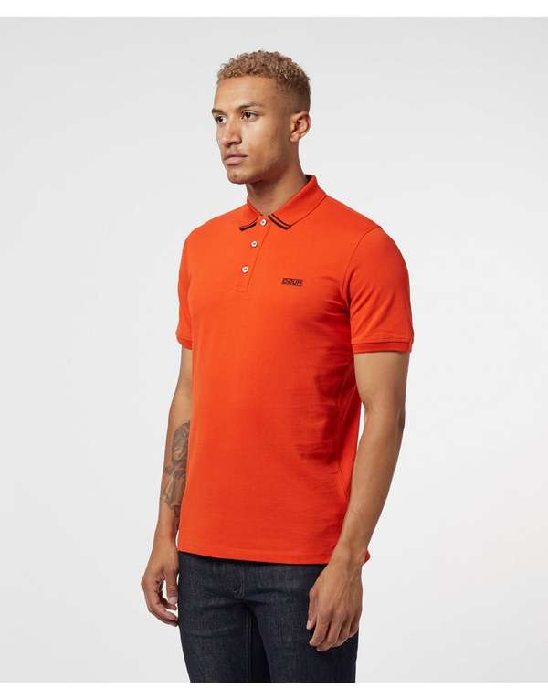 HUGO Dyler Tip Short Sleeve Polo Shirt