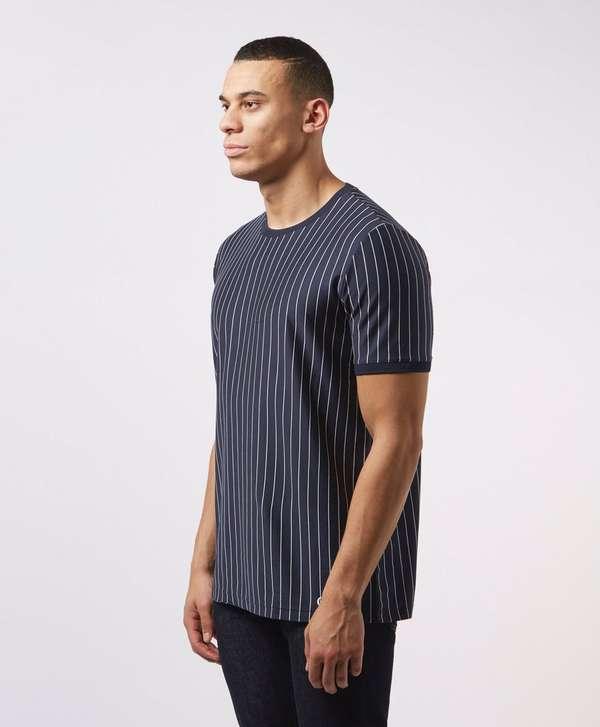 HUGO Drieste Stripe Short Sleeve T-Shirt