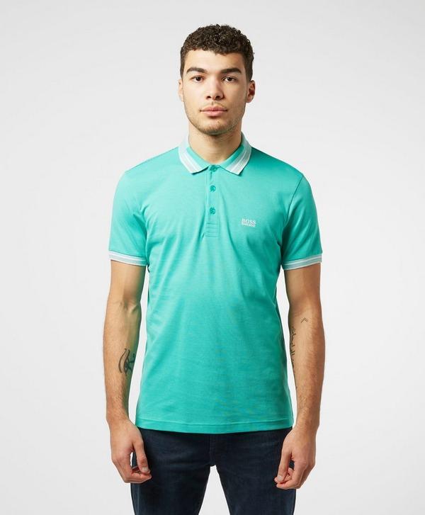BOSS Paddy Tipped Short Sleeve Polo Shirt