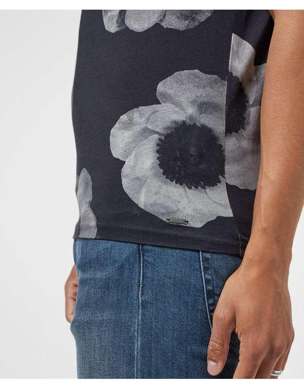 HUGO Dane Flower Short Sleeve T-Shirt