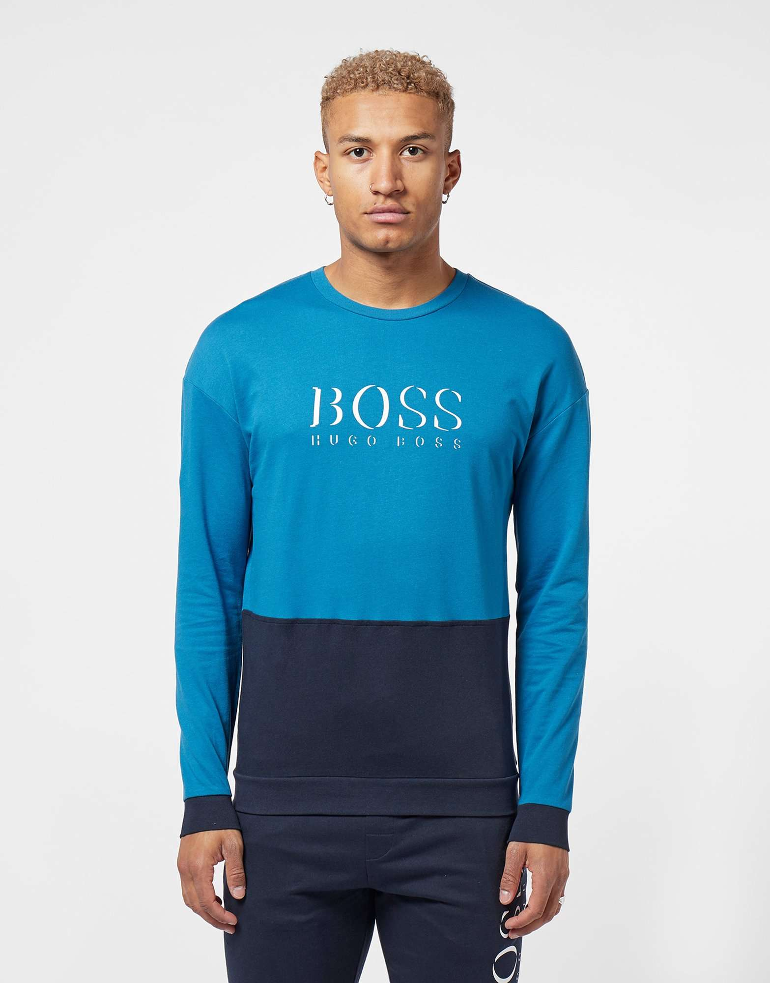 BOSS Authentic Split Sweatshirt