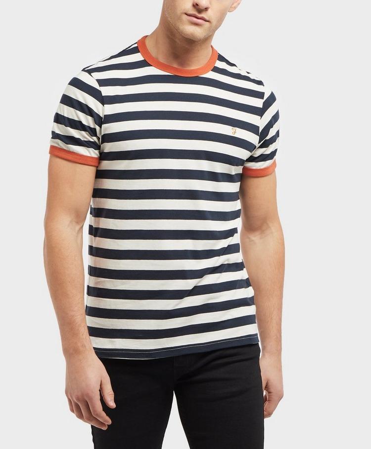 Farah Short Sleeve Stripe T-Shirt