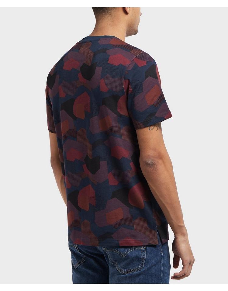 Farah All Over Print Short Sleeve T-Shirt