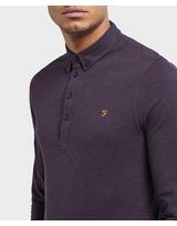 Farah Long Sleeve Polo Shirt