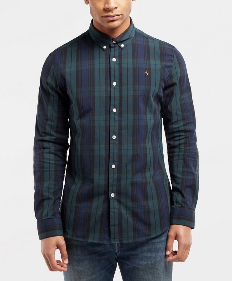Farah Blackwatch Long Sleeve Check Shirt