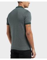 Farah All Over Print Short Sleeve Polo Shirt