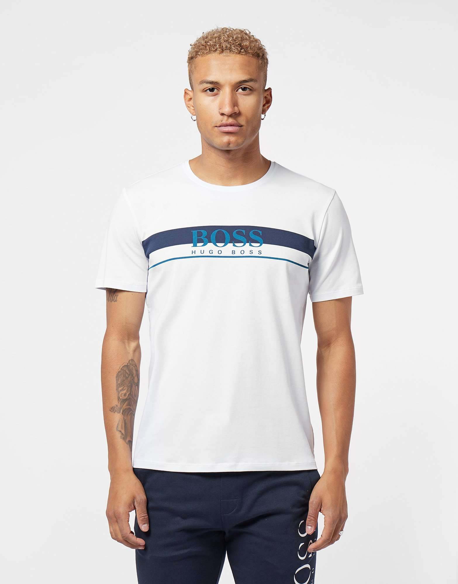 BOSS Panel Logo Short Sleeve T-Shirt
