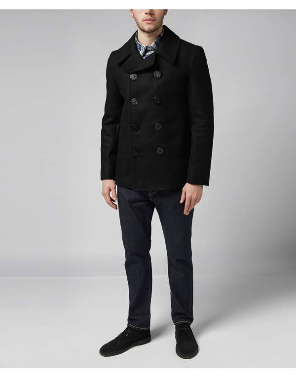 cfeb03cc3 Gloverall Reefer Jacket | scotts Menswear